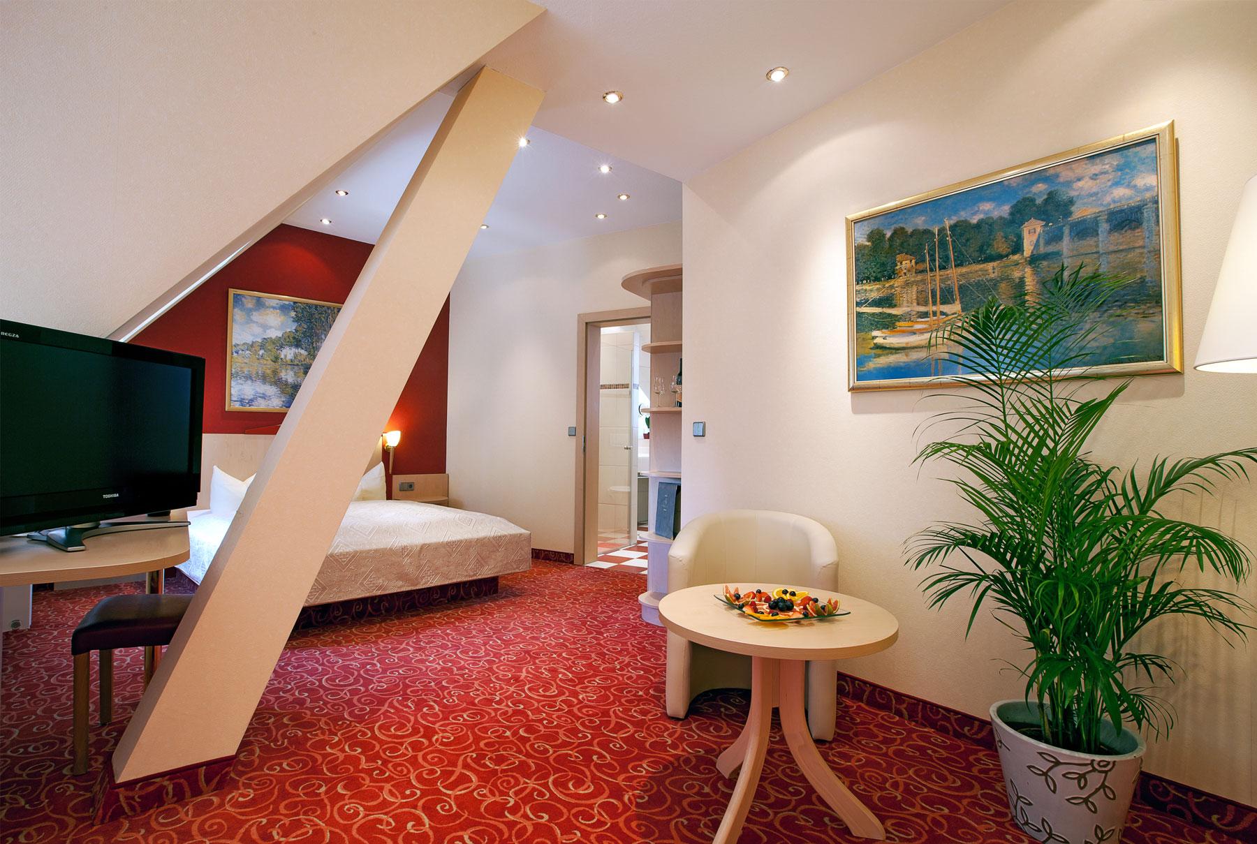 Hotel Goldene Rose Heidelberg Zimmer 1
