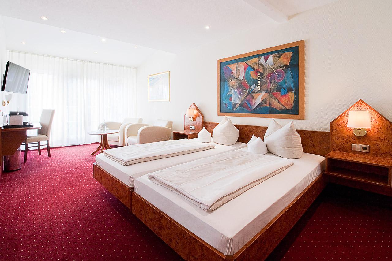 Hotel Goldene Rose Heidelberg Comfort Doppelzimmer 1