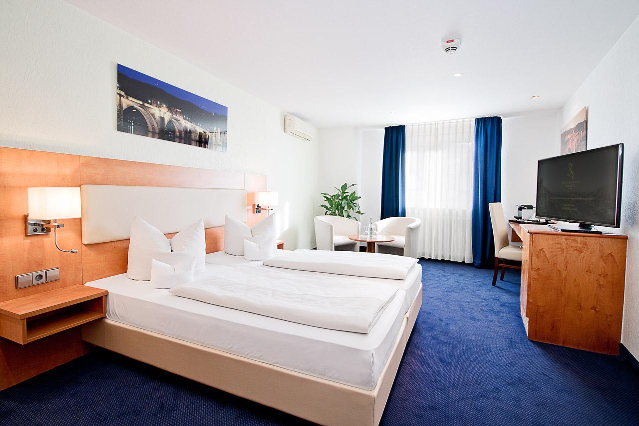 Hotel Goldene Rose Heidelberg Comfort Doppelzimmer 2