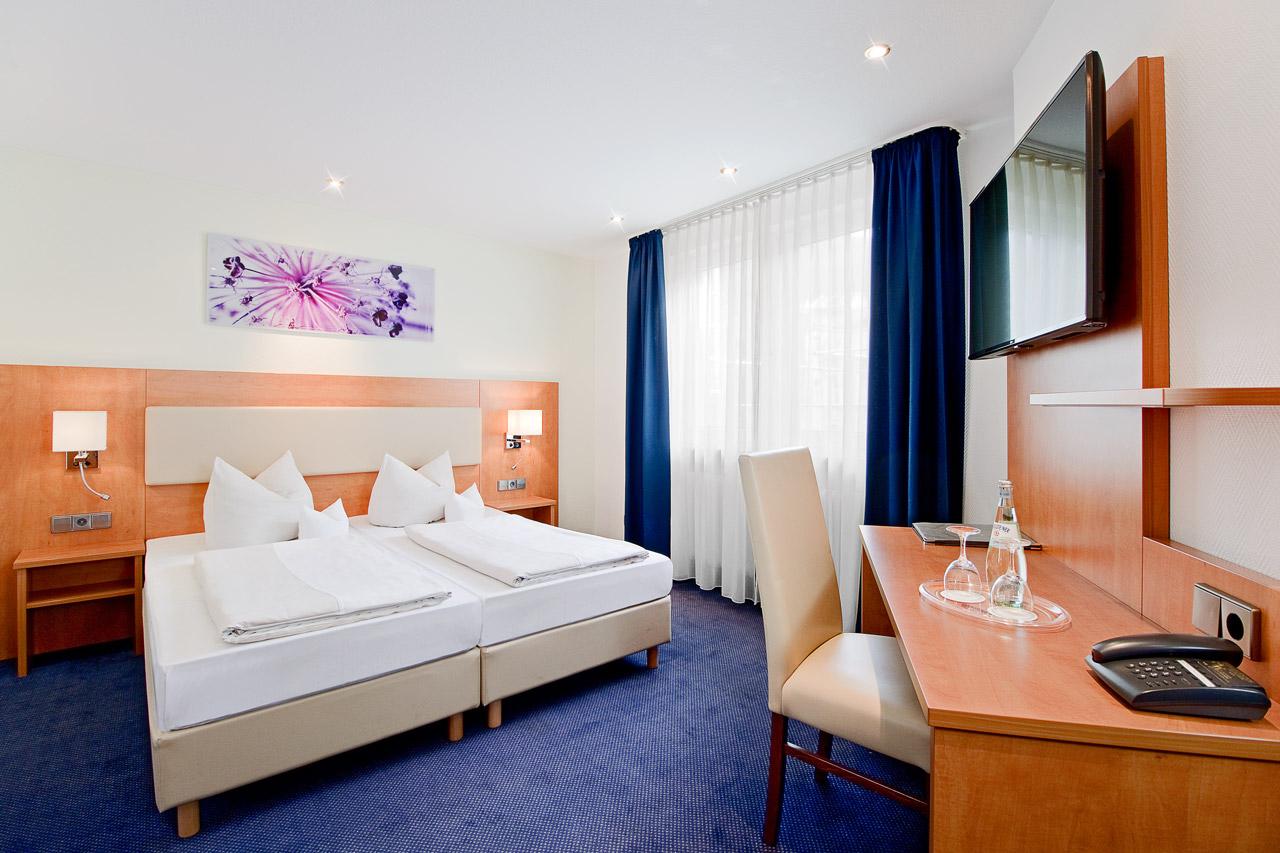 Hotel Goldene Rose Heidelberg Standard Doppelzimmer 1
